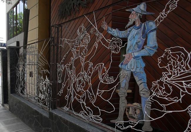 Frontis de la Casa Museo Solón, en la zona de Sopocachi de la ciudad de La Paz. EFE