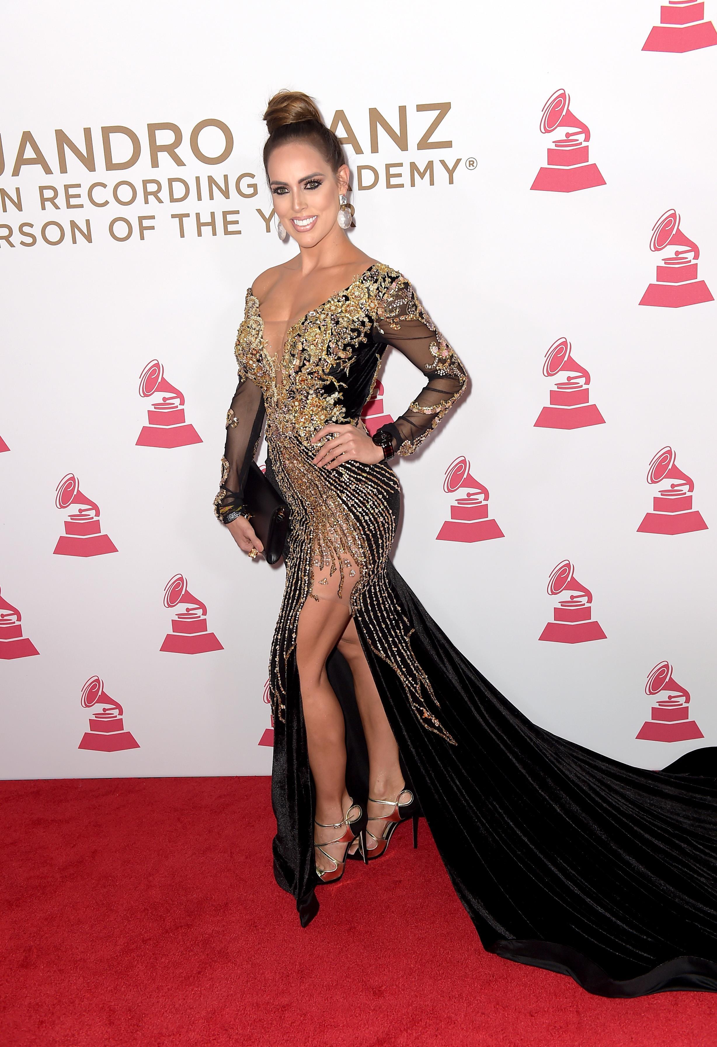 Latin Grammy 2017 Las Mejores Vestidas De La Alfombra Roja