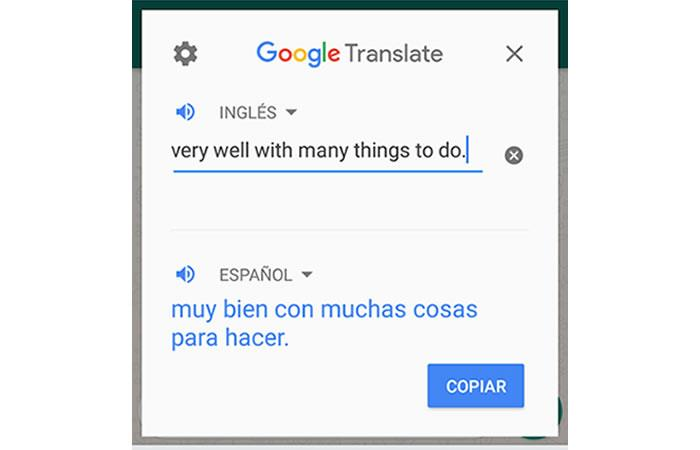 WhatsApp: How do you translate messages sent to other
