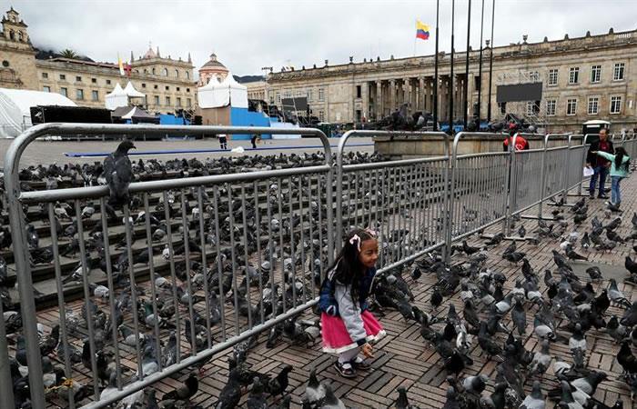 Peña Nieto arriba a Colombia para investidura de Iván Duque